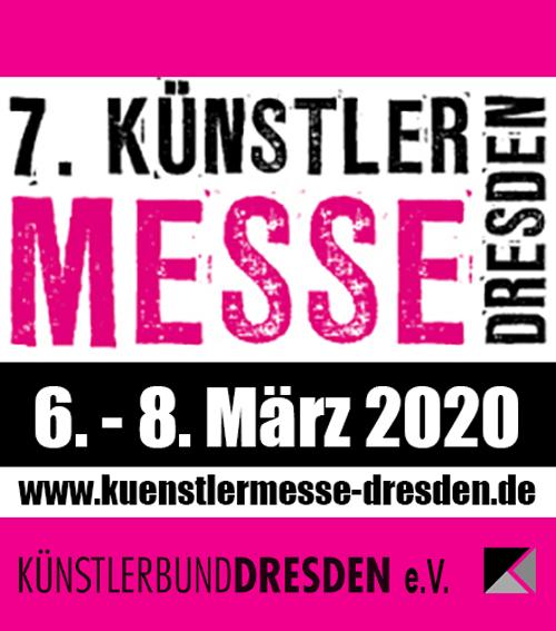 Anzeige für Künstlermesse