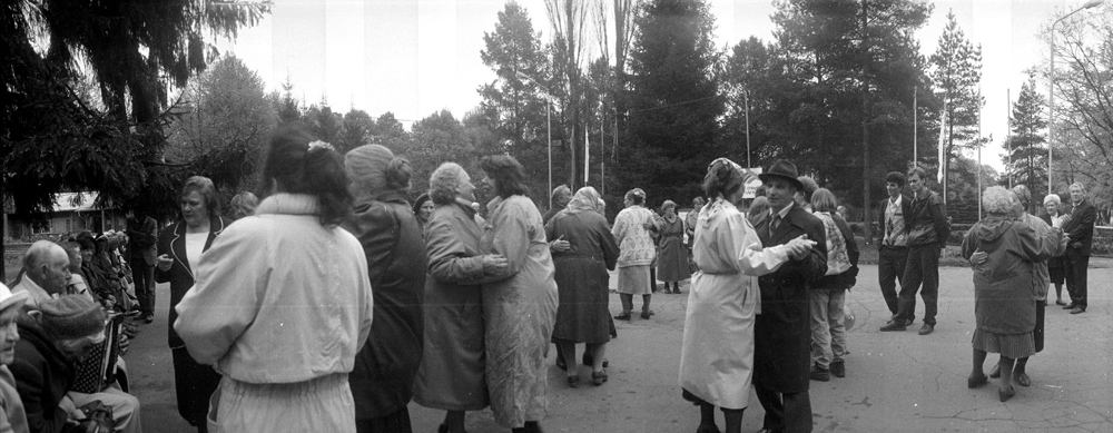Panoramafoto aus der Serie Gorisont, Russland, 2004