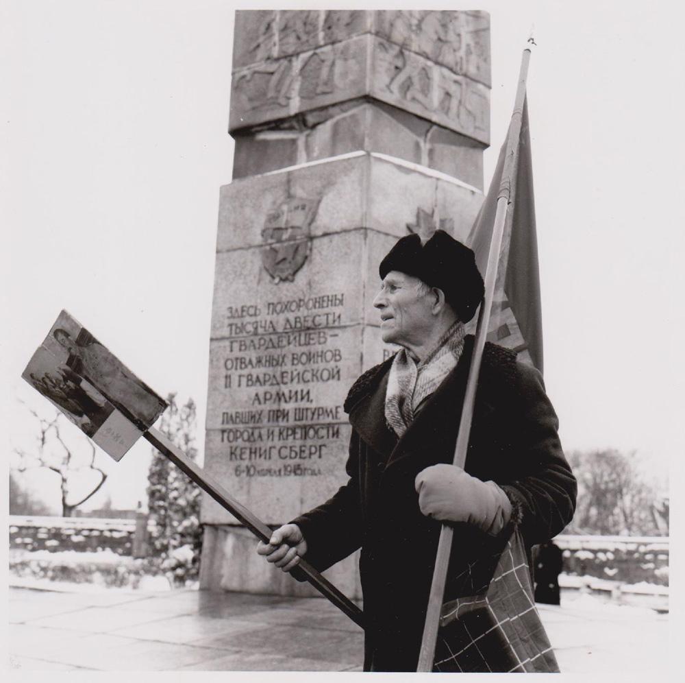 Foto aus der Serie Tag des Sieges, Veteran, Russland, 2003